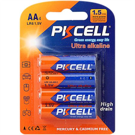 Pilas AA - PKCELL - Blister 4 Unidades